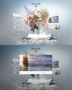 Assassins Creed 3 Re Design #design #video #3 #assassins #games #web #creed