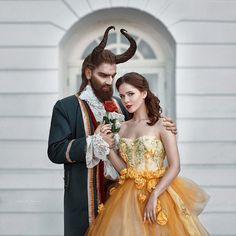 Beauty and the Beast by Irina Dzhul