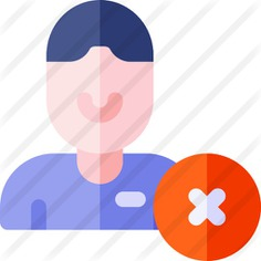 See more icon inspiration related to delete friend, friendlist, unfriend, substract, account, friend, user, minus, social media, avatar, profile, delete, technology and social on Flaticon.