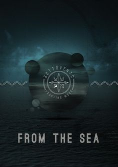 From the Sea on the Behance Network #digital #visual #poster