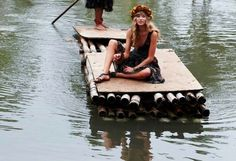 Feb 24, 2011 - chloe chippendale - Picasa Web Albums #girl #raft #exotic #photography #dress #river