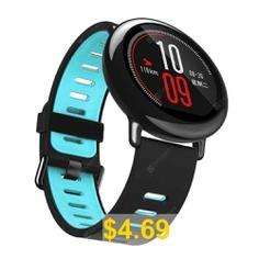 Sport #Silicone #Watch #Band #Wrist #Strap #for #Xiaomi #AMAZFIT #Smart #Watch #- #CRYSTAL #BLUE