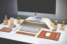 The Grovemade Desk Collectionin technology style fashion mainCategory #desktop #computer #accessories