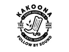 Kakoona #mark #badge #black #vintage #logo