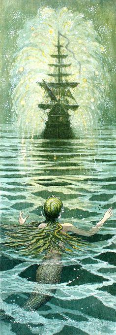 Boris Diodorov The Little Mermaid (Hans Christian Andersen) 9 | Flickr Photo Sharing! value