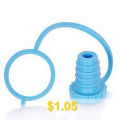 Flex #Seal #Reusable #Rubber #Wine #Beverage #Beer #Stopper #- #BLUE