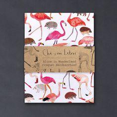 handmade hankerchiefs by chacomletras #illustration #print