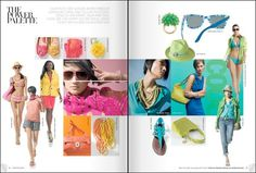 Nordstrom January 2010 Catalog Preview #colors #editorial #magazine