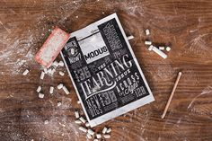 7x3m Modus cover #lettering #chalk #cover #art #typography