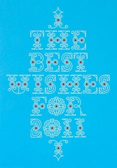 Best Wishes - HOAX: GRAPHIC DESIGN #print #lettering