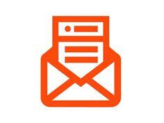 Dribbble - Inbox by Keenan Cummings #icon #envelope #illustrations
