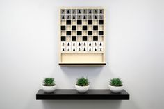 wall-hanging chessboard Mate #chess