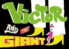 Victor_and_the_giant.jpg (JPEG Image, 799x565 pixels) #jack #screenprint #teagle