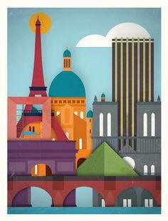 design work life » Moxy Creative House: Touristique #illustration