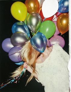 Balloon Face #fashion #color