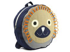 Lion Backpack #fashion #lion #backpack
