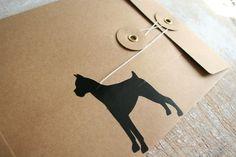Make Mistakes. #black #seal #letter #envelope #funny #dog