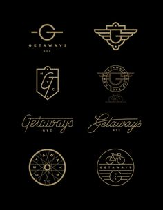 Getaways_nyc_j_fletcher #type #logo #branding #j fletcher design