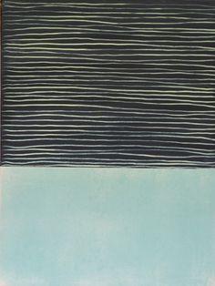 glovaskicom:Blue Calm, acrylic on canvas, 24x18, 2015Â Glovaski #paint