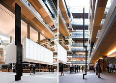 Graphic-ExchanGE - a selection of graphic projects #monolithic #black #wayfinding #directional #signage