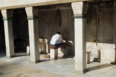 Istanbul mosque foot wash | Flickr - Photo Sharing! #turkey #walby #istanbul #photography #religion #mosque #david #wall-b