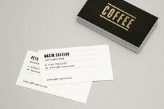 Coffee Agency on Behance #businesscard