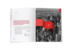 105 Best Annual Report Design Inspiration at DzineBlog.com - Design Blog & Inspiration #annual report
