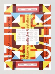 Leipzig/Luzern #feixen #design #graphic #pfffli #poster #felix