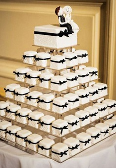 wedding mini cake design