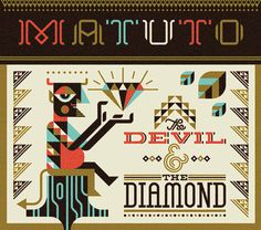 Ty Wilkins - Matuto #album #lettering #diamond #artwork #devil #ty #wilkins