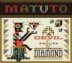 Ty Wilkins - Matuto #album #lettering #diamond #artwork #devil #ty #wilkins