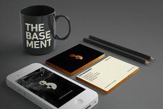 hoploid:HOPLOID likes the brand identity of Basement Coffee House.viaadityawijanarko:branding work for the basement coffee house jakarta #branding