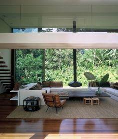 WANKEN - The Blog of Shelby White » House in Iporanga Sao Paulo #interior #house #design #brazilian #architecture