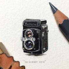 postcardsforants-1bis #miniature #painting