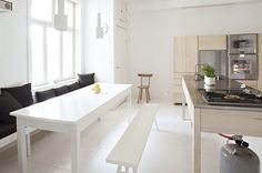 Handmade Finnish kitchens by Carpenter Collective emmas designblogg #interior #design #decor #deco #decoration