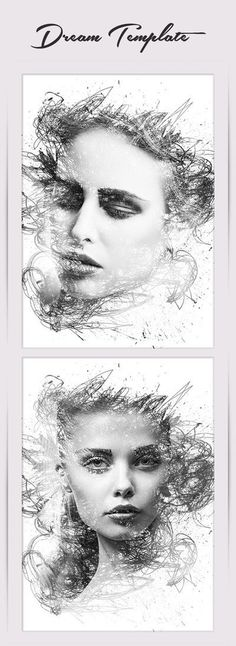 Dream Photo Template #template #woman #girl #photo #photoshop #fashion #lady