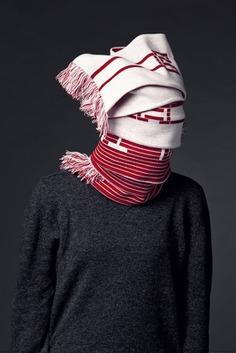 Jenny Holzer Bilbao Scarf By Kai Bergmann, Bergmann Studios