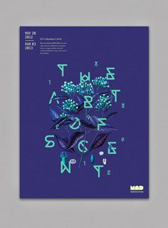 MichelleWang_ArtofScent_01 #typography #poster #layout