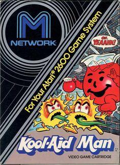 Kool-Aid Man(Atari 2600) #packaging #retro #atari #video game
