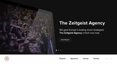 Medium #agency #clean #minimal #layout #web