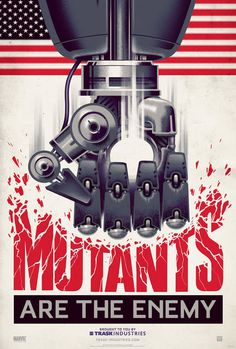 x men days of future past mutants poster #robot #mutants #enemy #viral #posters #marvel #propoganda #x #men #sentinel