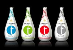 Twinings Iced T - Degree Project - Package Design #white #bottle #packaging #fresh #design #twinings #tea #package