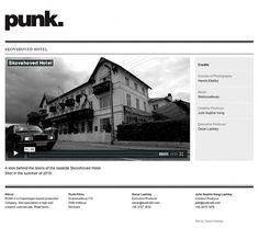 Punk Films on Web Design Served #fdgfdf