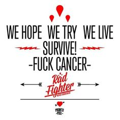 Never Surrender #design #prontopixel #fuckcancer #illustration #art #logo #radfighter