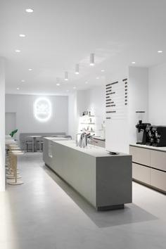 Van Dyck Espressobar by Gerdesmeyer Krohn Office