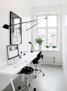 Workspace. #workspace #minimalist #blackandwhite