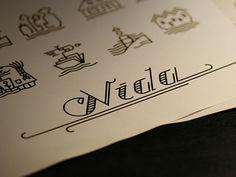 nida icons justina valuzyte #nida #icons #linework