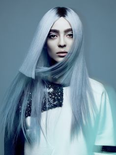 NAHA Finalist Hairstylist of the Year Allen Ruiz #blue