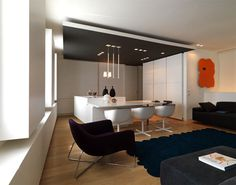 Modern Apartment Interior in Venice - #decor, #interior,