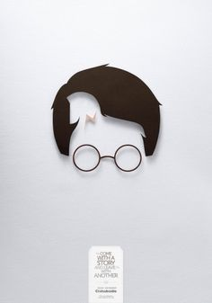 In These Ads, Storybook Characters Remain Hidden In Storybook Characters - DesignTAXI.com #hidden #minimalist #poster